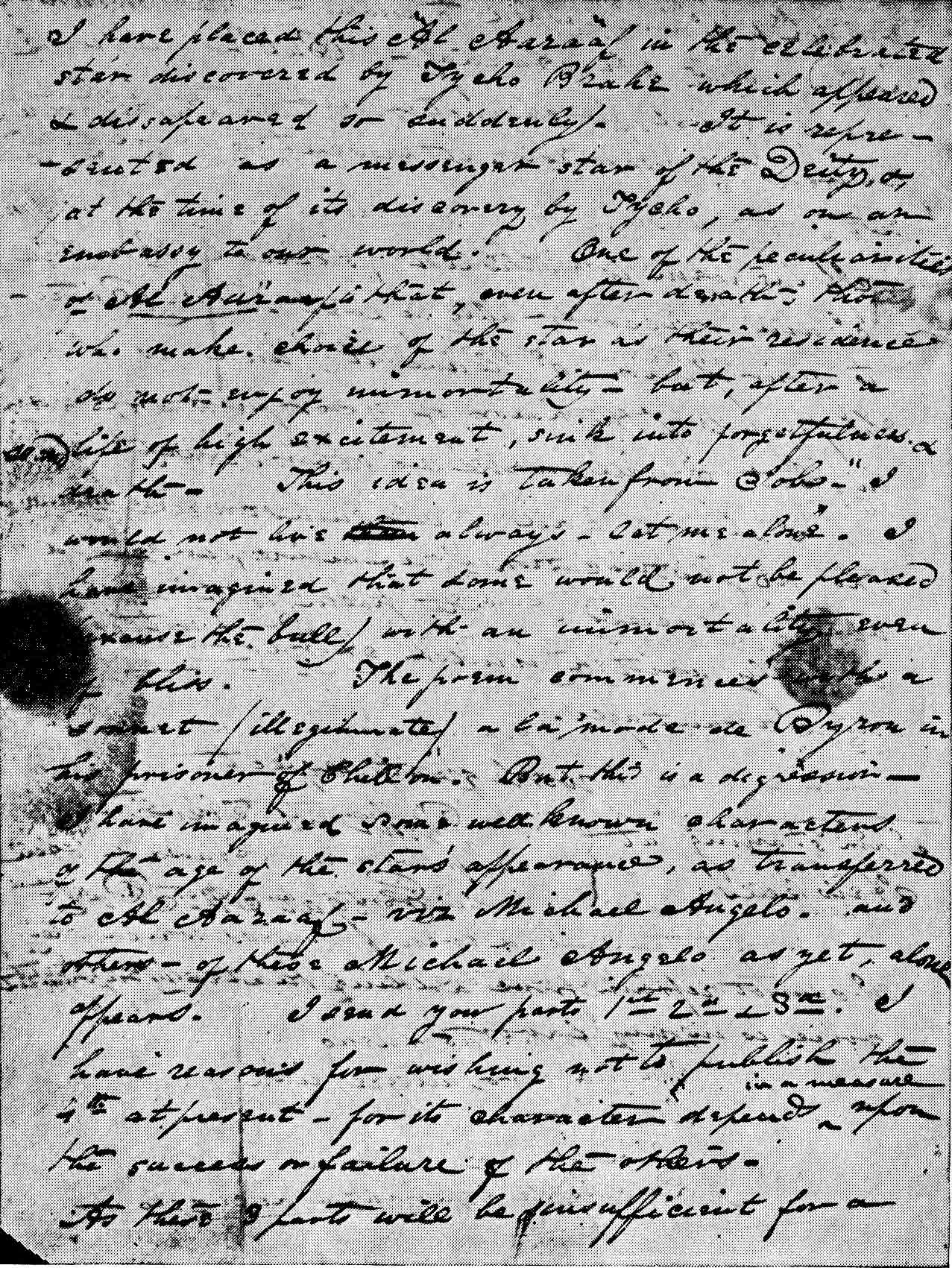 letter to john allan